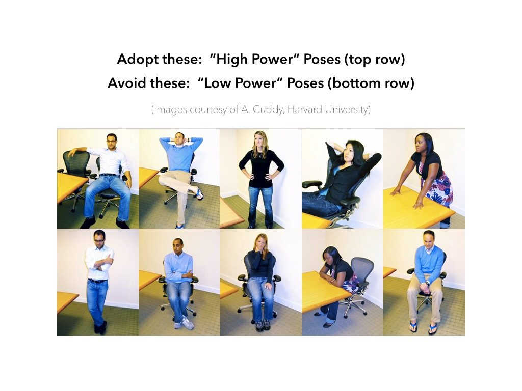 Do the Power Pose, It's all the Rage